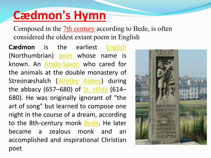 Cædmon's Hymn