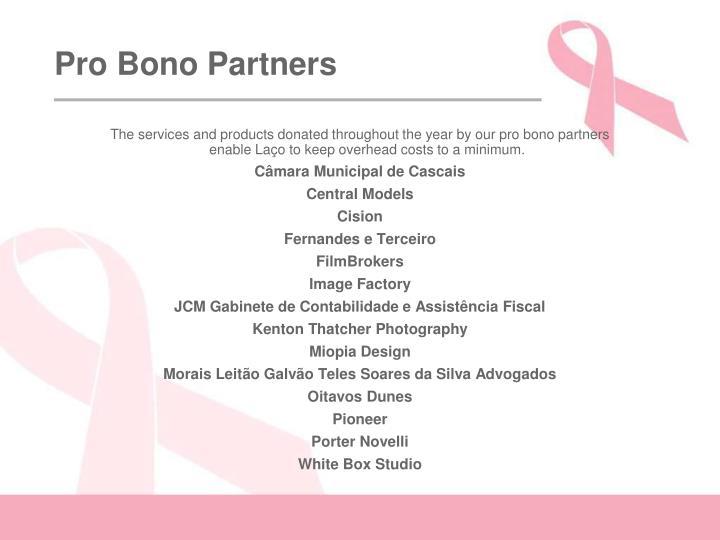 Pro Bono Partners
