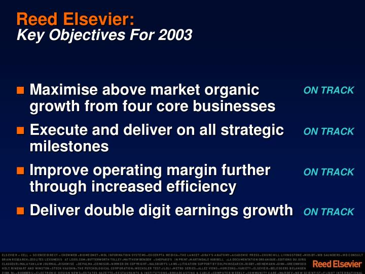 Reed Elsevier: