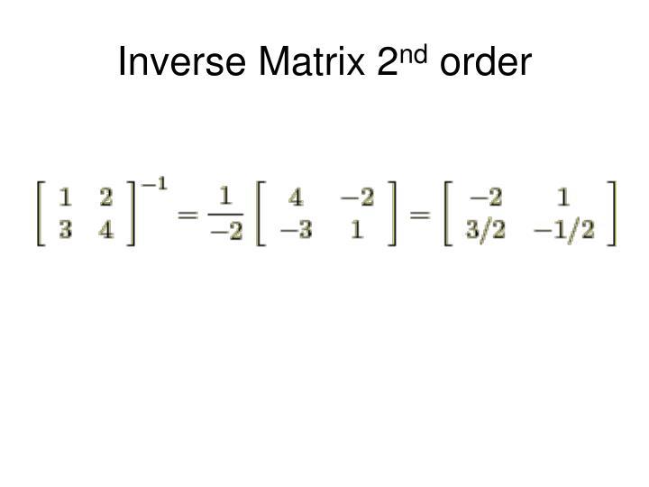 Inverse Matrix 2