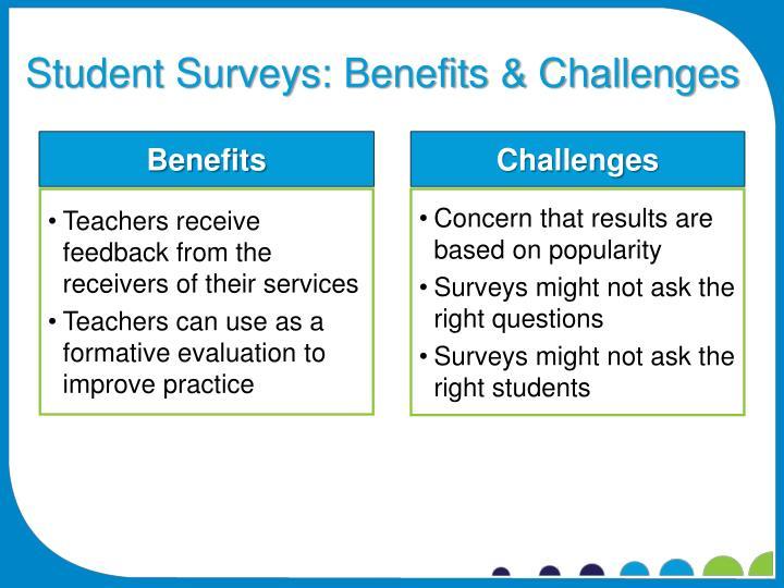 Student Surveys: Benefits & Challenges