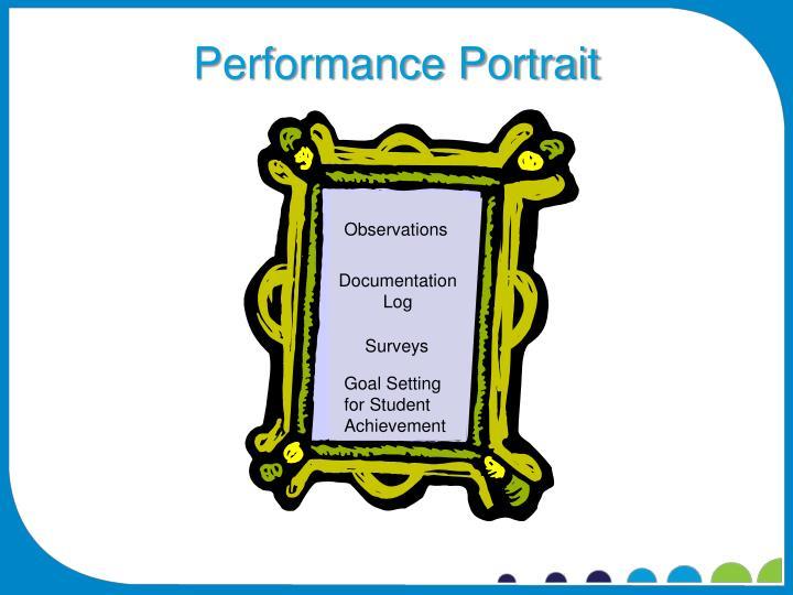 Performance Portrait