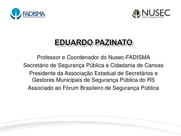 EDUARDO PAZINATO