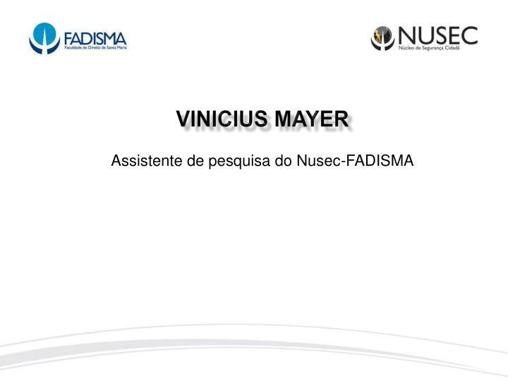VINICIUS MAYER