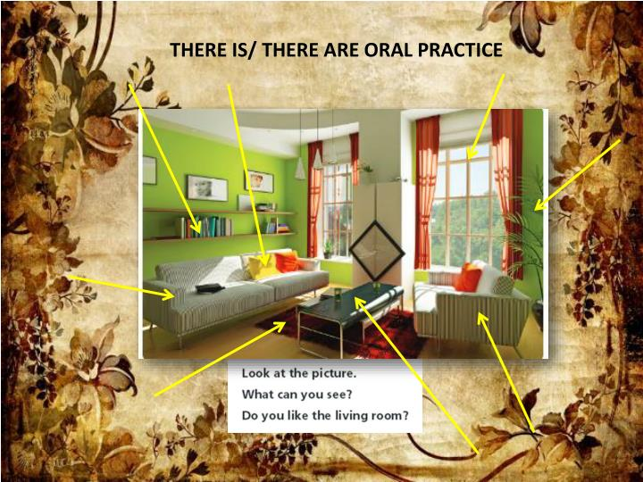 THERE IS/ THERE ARE ORAL PRACTICE