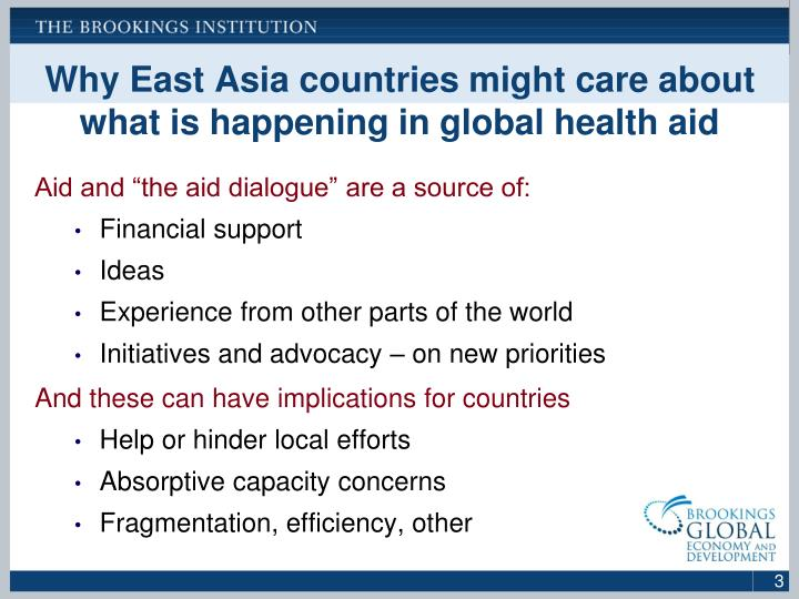 Why East Asia countries might care about