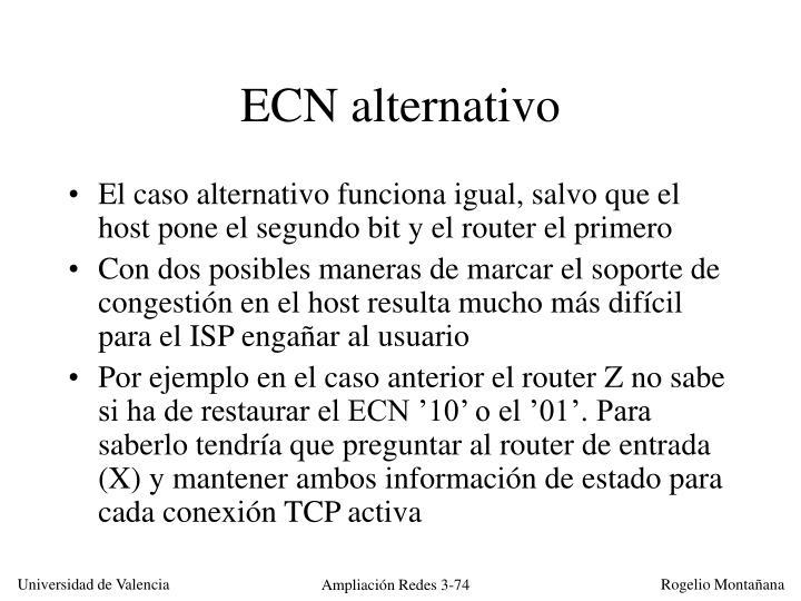 ECN alternativo