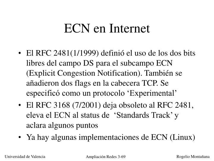 ECN en Internet
