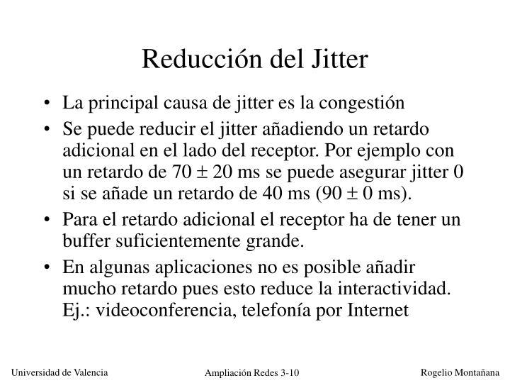 Reducción del Jitter