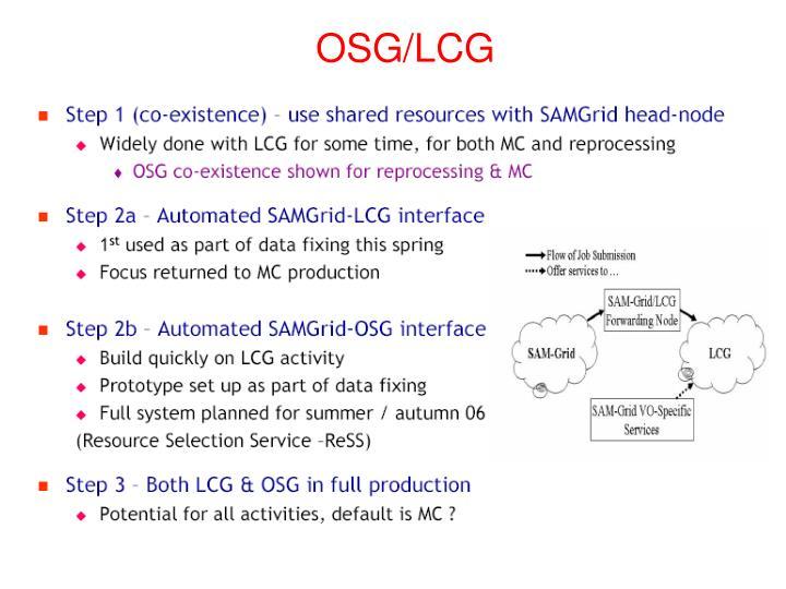 OSG/LCG