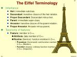 the eiffel terminology