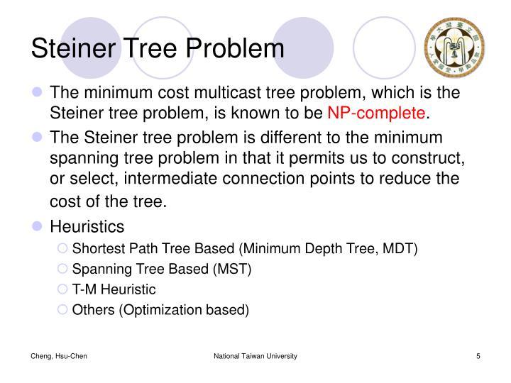 Steiner Tree Problem