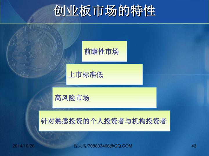 创业板市场的特性