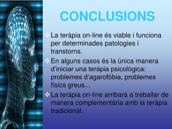 La teràpia on-line és viable i funciona per determinades patologies i transtorns.