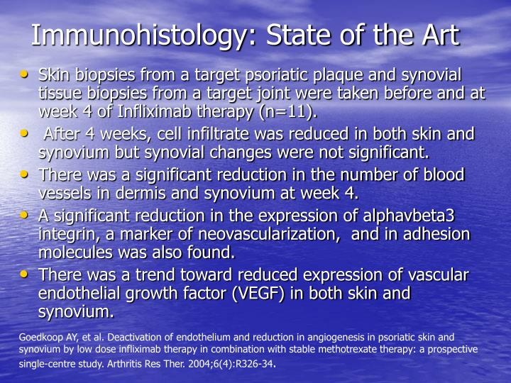 Immunohistology: State of the Art