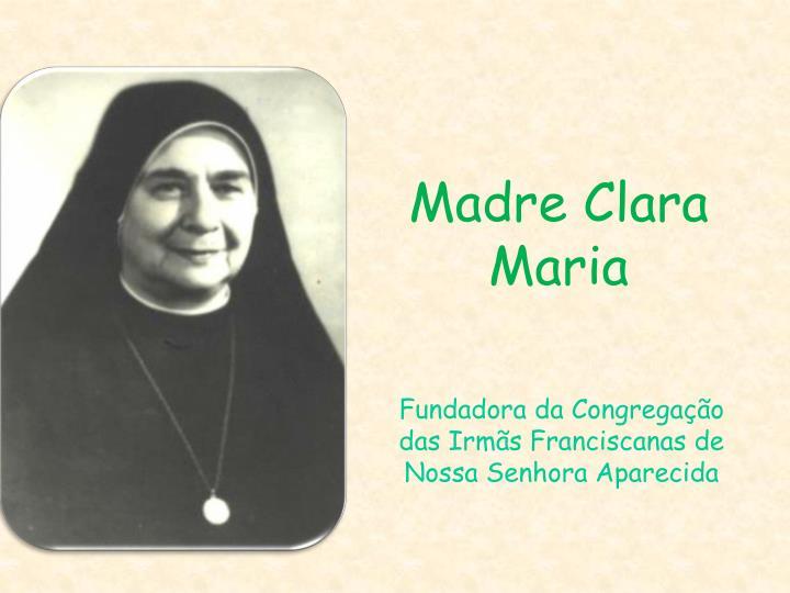 Madre Clara Maria