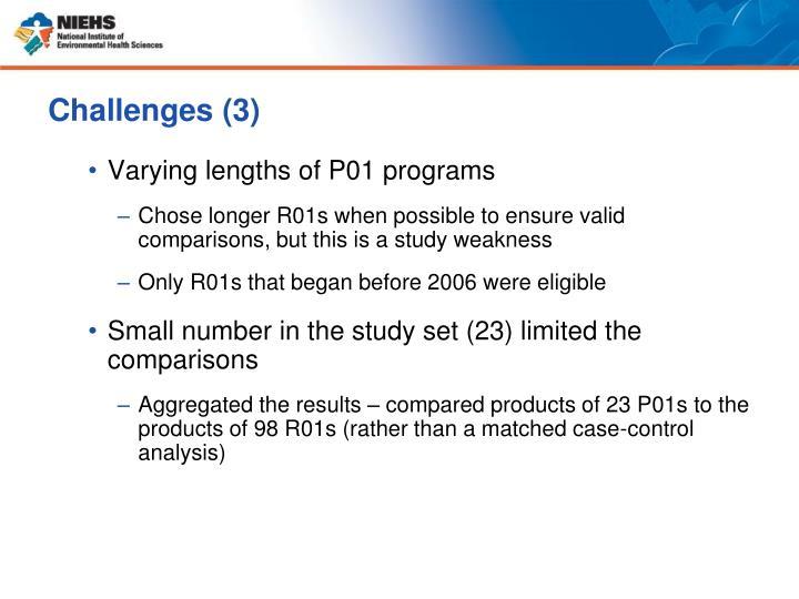 Challenges (3)