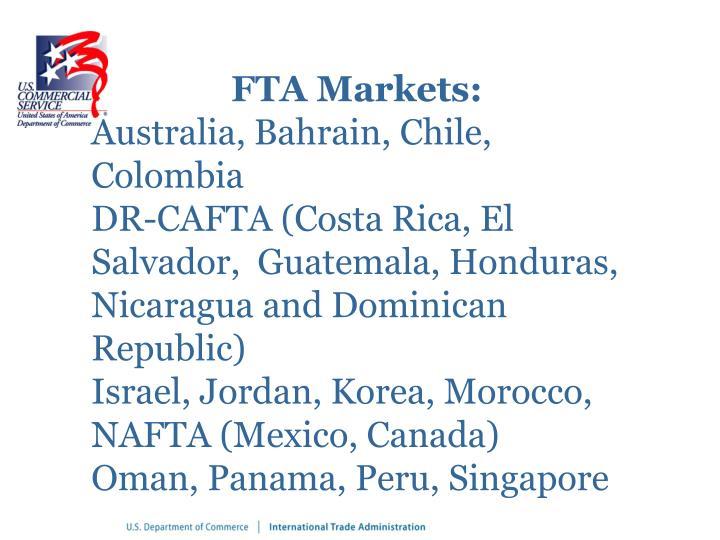 FTA Markets