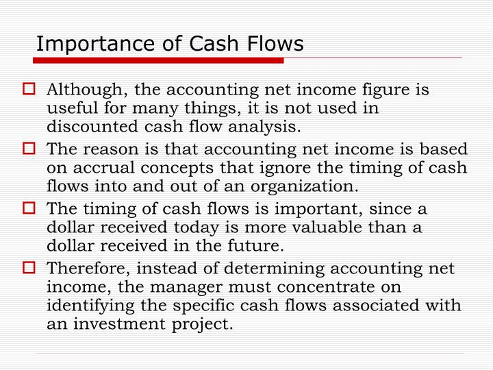 Importance of Cash Flows