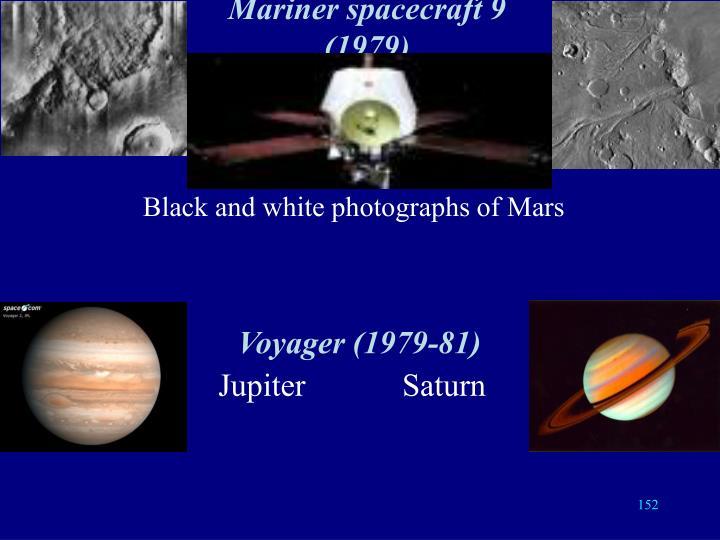 Mariner spacecraft 9 (1979)