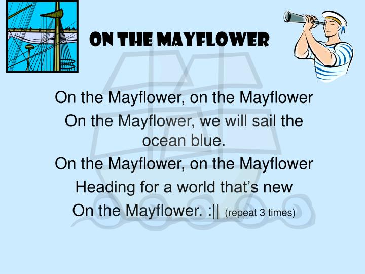 On the mayflower