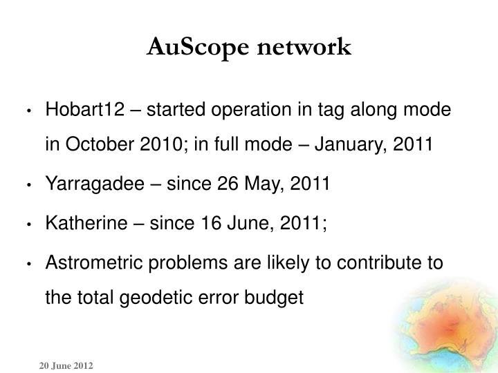 AuScope network