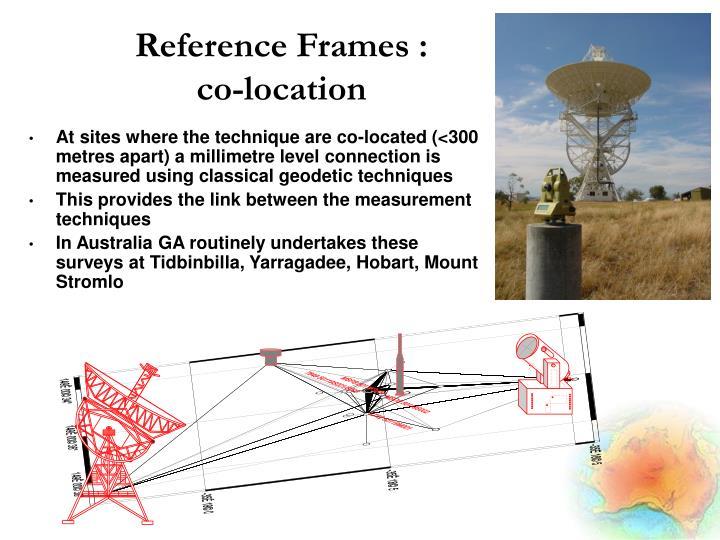 Reference Frames :