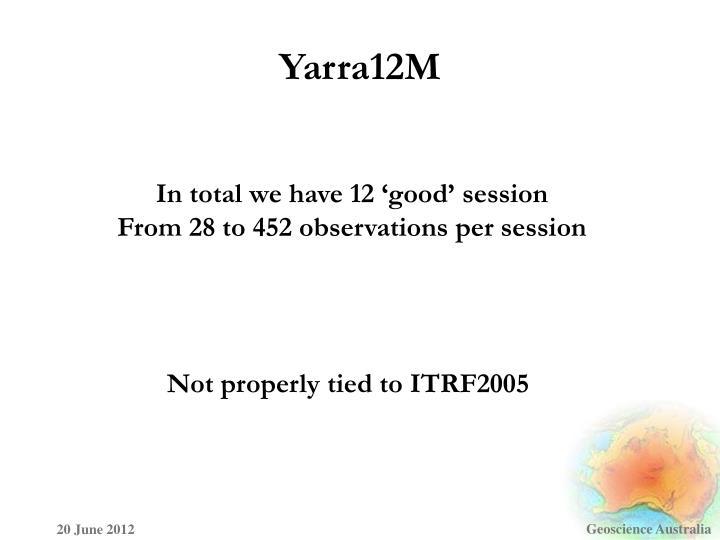 Yarra12M