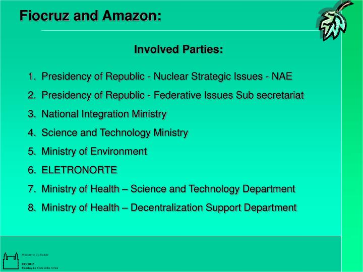 Fiocruz and Amazon: