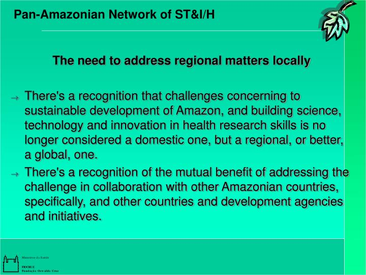 Pan-Amazonian Network of ST&I/H