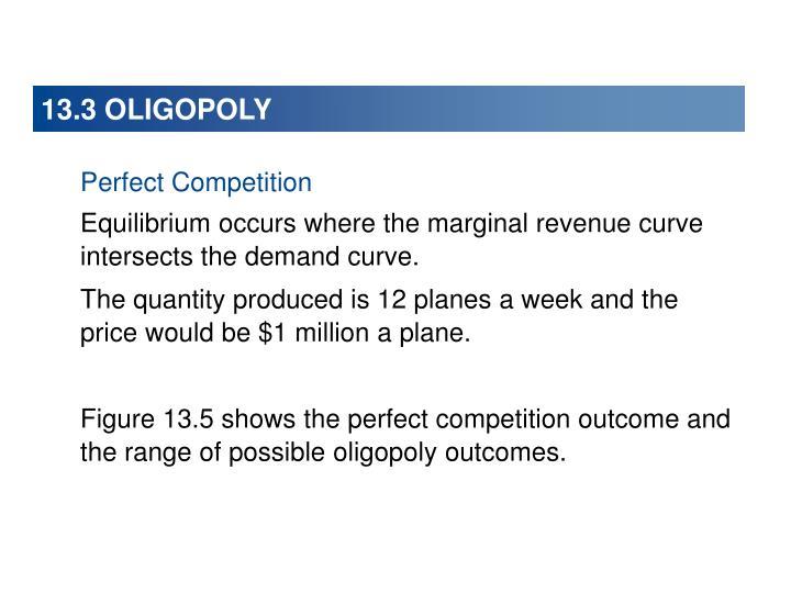 13.3 OLIGOPOLY