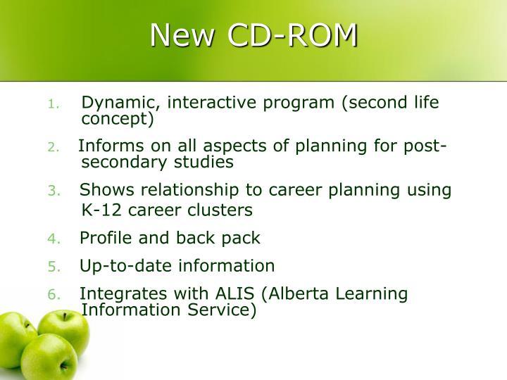 New CD-ROM