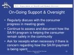on going support oversight2