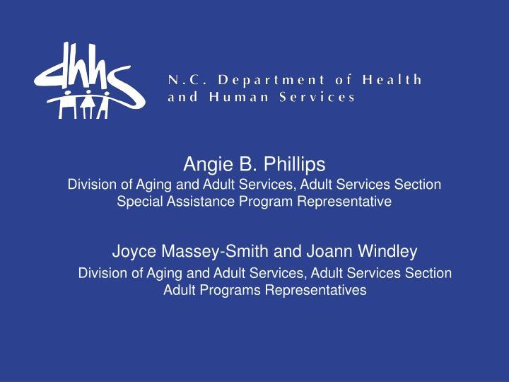 Angie B. Phillips