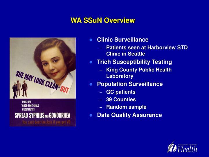 WA SSuN Overview