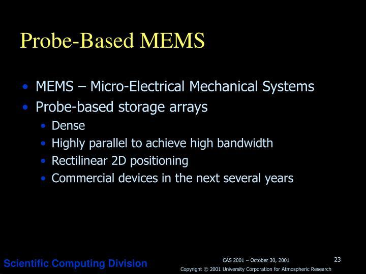 Probe-Based MEMS