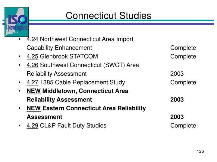 Connecticut Studies