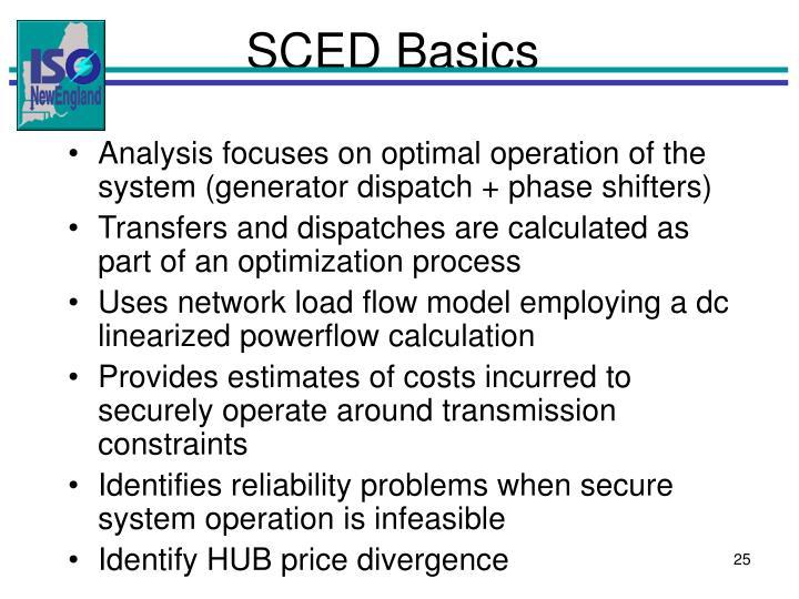 SCED Basics