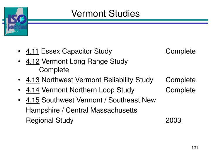 Vermont Studies