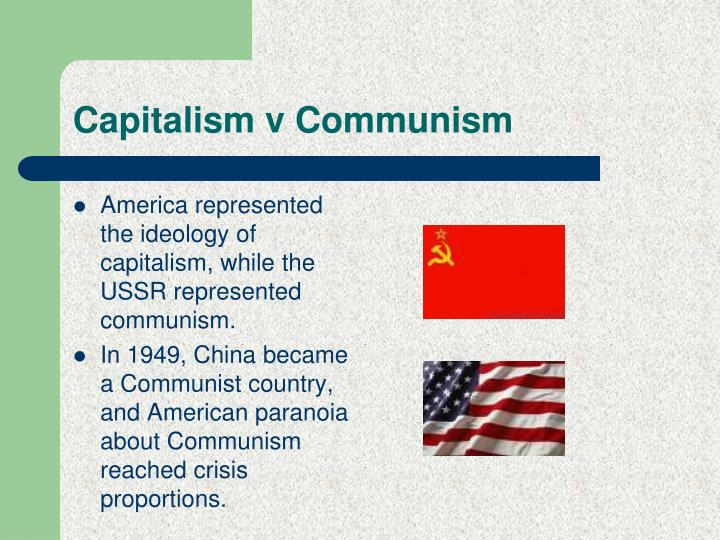 Capitalism v Communism