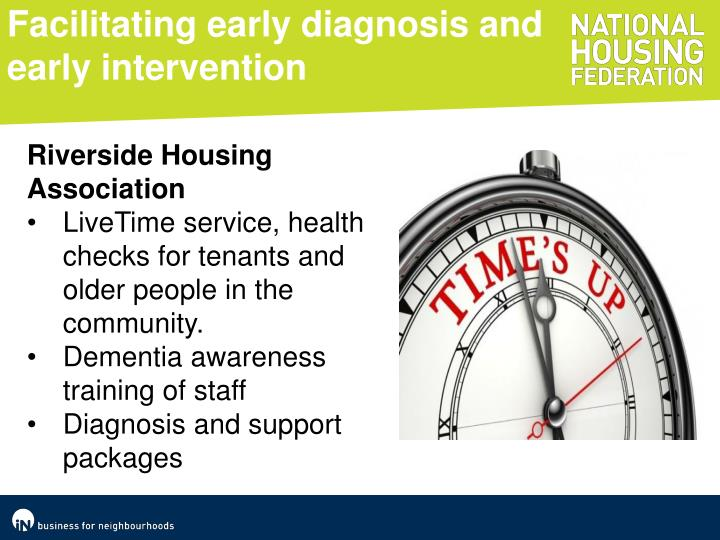 Facilitating early diagnosis and