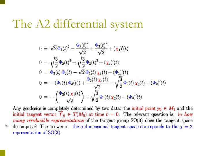 The A2 differential system