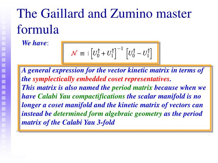 A general expression for the vector kinetic matrix in terms of the