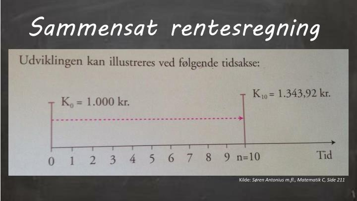 Sammensat rentesregning