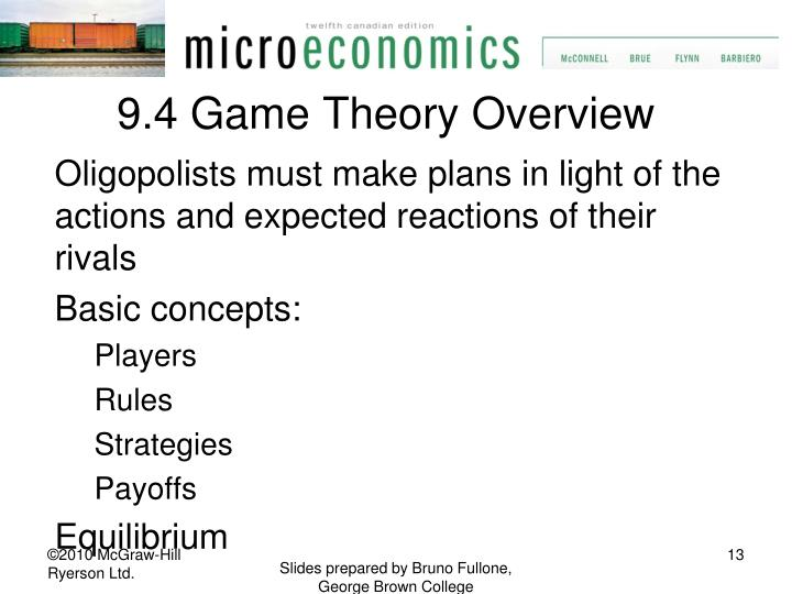9.4 Game Theory Overview