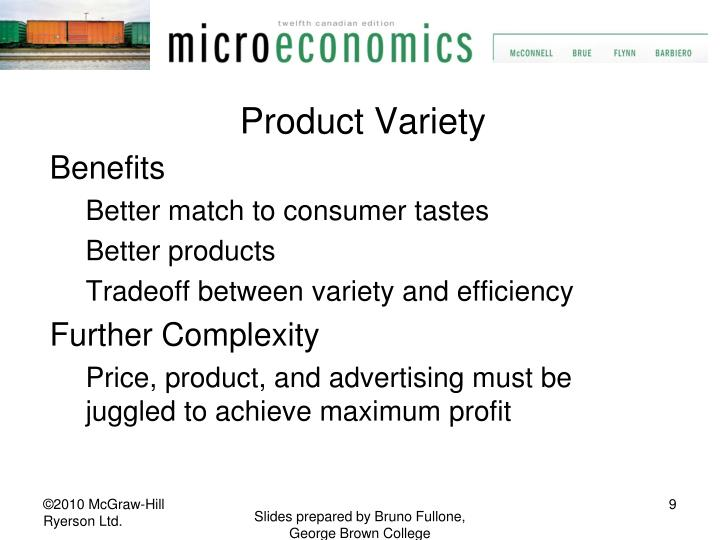 Product Variety