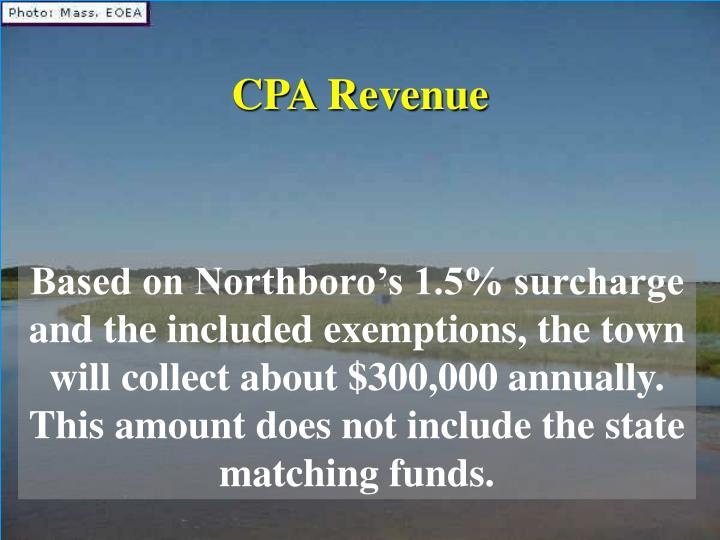 CPA Revenue