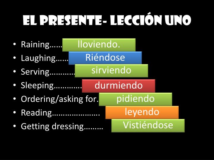 EL PRESENTE-