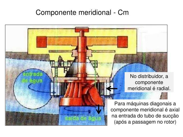 Componente meridional - Cm