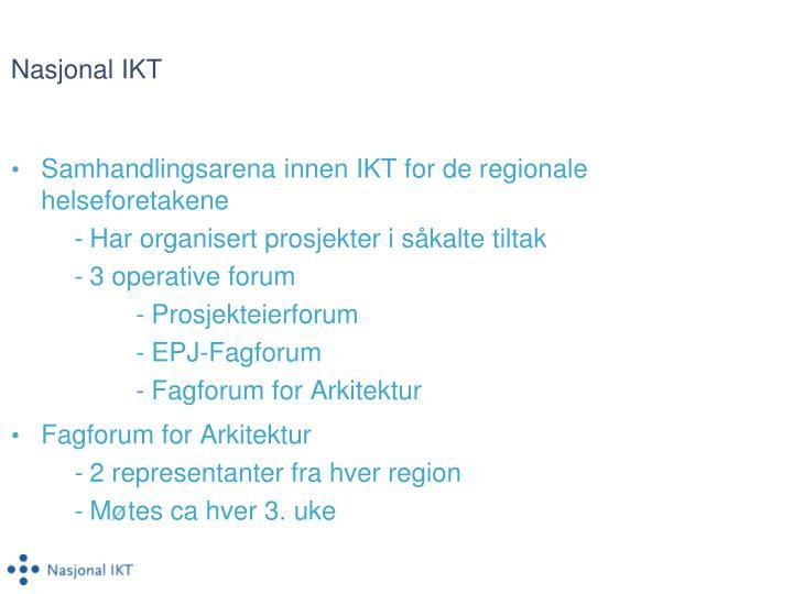 Nasjonal IKT